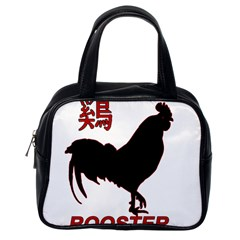 Year of the Rooster - Chinese New Year Classic Handbags (One Side)