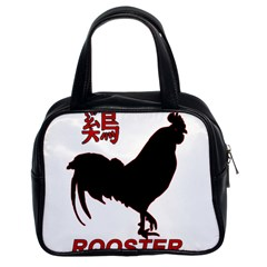 Year of the Rooster - Chinese New Year Classic Handbags (2 Sides)