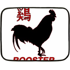 Year of the Rooster - Chinese New Year Fleece Blanket (Mini)