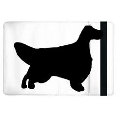 English Setter Silo Black iPad Air Flip