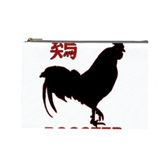 Year of the Rooster - Chinese New Year Cosmetic Bag (Large)