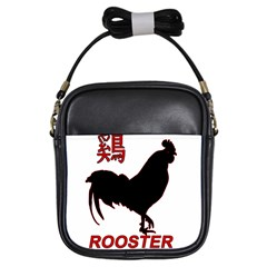 Year of the Rooster - Chinese New Year Girls Sling Bags
