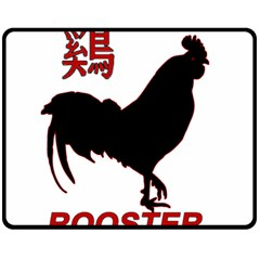 Year of the Rooster - Chinese New Year Fleece Blanket (Medium)