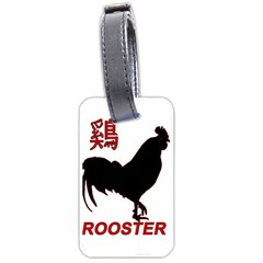 Year of the Rooster - Chinese New Year Luggage Tags (One Side)
