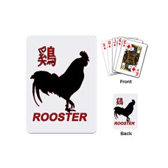 Year of the Rooster - Chinese New Year Playing Cards (Mini)