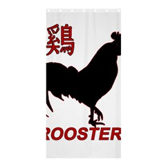 Year of the Rooster - Chinese New Year Shower Curtain 36  x 72  (Stall)