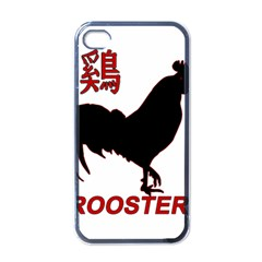 Year of the Rooster - Chinese New Year Apple iPhone 4 Case (Black)