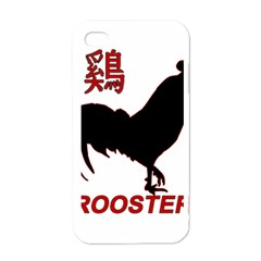 Year of the Rooster - Chinese New Year Apple iPhone 4 Case (White)