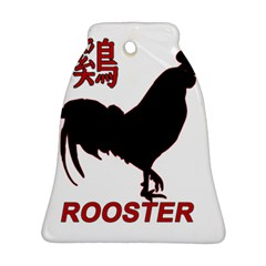 Year of the Rooster - Chinese New Year Bell Ornament (Two Sides)