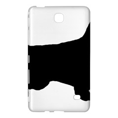 English Setter Silo Black Samsung Galaxy Tab 4 (7 ) Hardshell Case