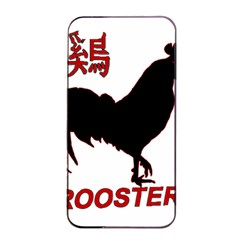 Year of the Rooster - Chinese New Year Apple iPhone 4/4s Seamless Case (Black)