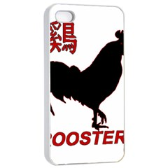 Year of the Rooster - Chinese New Year Apple iPhone 4/4s Seamless Case (White)