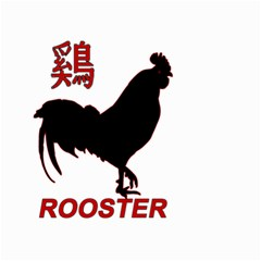 Year of the Rooster - Chinese New Year Small Garden Flag (Two Sides)
