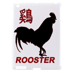 Year of the Rooster - Chinese New Year Apple iPad 3/4 Hardshell Case (Compatible with Smart Cover)