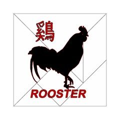 Year of the Rooster - Chinese New Year Acrylic Tangram Puzzle (6  x 6 )