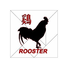 Year of the Rooster - Chinese New Year Acrylic Tangram Puzzle (4  x 4 )