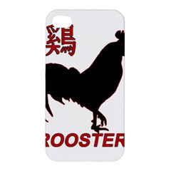 Year of the Rooster - Chinese New Year Apple iPhone 4/4S Premium Hardshell Case