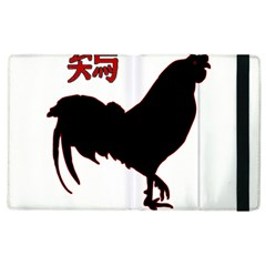 Year of the Rooster - Chinese New Year Apple iPad 3/4 Flip Case