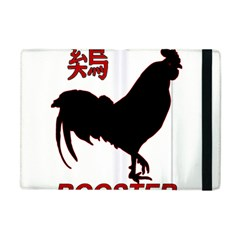 Year of the Rooster - Chinese New Year Apple iPad Mini Flip Case