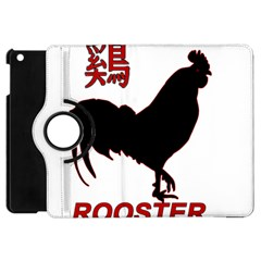 Year of the Rooster - Chinese New Year Apple iPad Mini Flip 360 Case