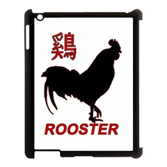 Year of the Rooster - Chinese New Year Apple iPad 3/4 Case (Black)