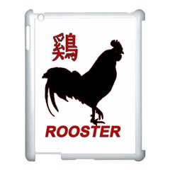 Year of the Rooster - Chinese New Year Apple iPad 3/4 Case (White)