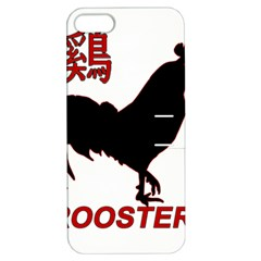Year of the Rooster - Chinese New Year Apple iPhone 5 Hardshell Case with Stand