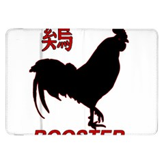 Year of the Rooster - Chinese New Year Samsung Galaxy Tab 8.9  P7300 Flip Case