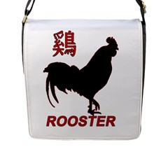 Year of the Rooster - Chinese New Year Flap Messenger Bag (L)