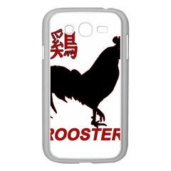 Year of the Rooster - Chinese New Year Samsung Galaxy Grand DUOS I9082 Case (White)