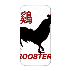 Year of the Rooster - Chinese New Year Samsung Galaxy S4 I9500/I9505  Hardshell Back Case
