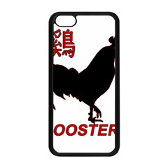 Year of the Rooster - Chinese New Year Apple iPhone 5C Seamless Case (Black)