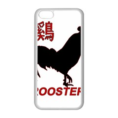 Year of the Rooster - Chinese New Year Apple iPhone 5C Seamless Case (White)