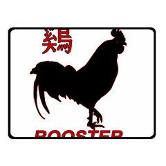 Year of the Rooster - Chinese New Year Double Sided Fleece Blanket (Small)
