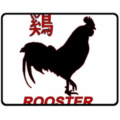 Year of the Rooster - Chinese New Year Double Sided Fleece Blanket (Medium)