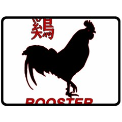 Year of the Rooster - Chinese New Year Double Sided Fleece Blanket (Large)