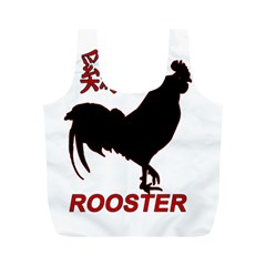 Year of the Rooster - Chinese New Year Full Print Recycle Bags (M)