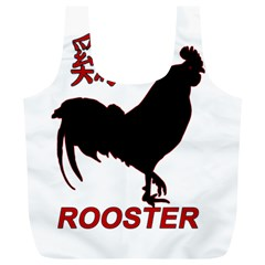 Year of the Rooster - Chinese New Year Full Print Recycle Bags (L)