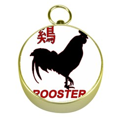 Year of the Rooster - Chinese New Year Gold Compasses