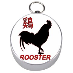 Year of the Rooster - Chinese New Year Silver Compasses