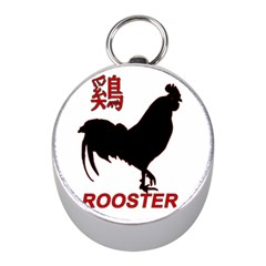 Year of the Rooster - Chinese New Year Mini Silver Compasses