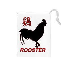 Year of the Rooster - Chinese New Year Drawstring Pouches (Medium)