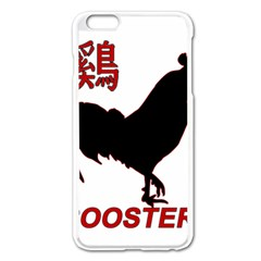 Year of the Rooster - Chinese New Year Apple iPhone 6 Plus/6S Plus Enamel White Case