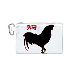 Year of the Rooster - Chinese New Year Canvas Cosmetic Bag (S)