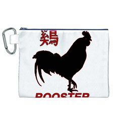 Year of the Rooster - Chinese New Year Canvas Cosmetic Bag (XL)