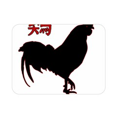 Year of the Rooster - Chinese New Year Double Sided Flano Blanket (Mini)