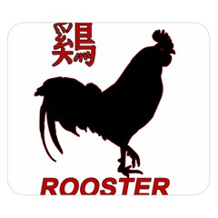 Year of the Rooster - Chinese New Year Double Sided Flano Blanket (Small)
