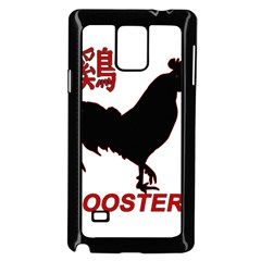 Year of the Rooster - Chinese New Year Samsung Galaxy Note 4 Case (Black)