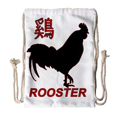 Year of the Rooster - Chinese New Year Drawstring Bag (Large)