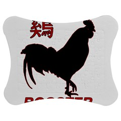 Year of the Rooster - Chinese New Year Jigsaw Puzzle Photo Stand (Bow)